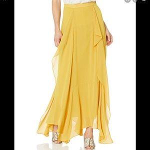 BCBGMAXAZRIA Amallia Ruffle Maxi Skirt Size 8